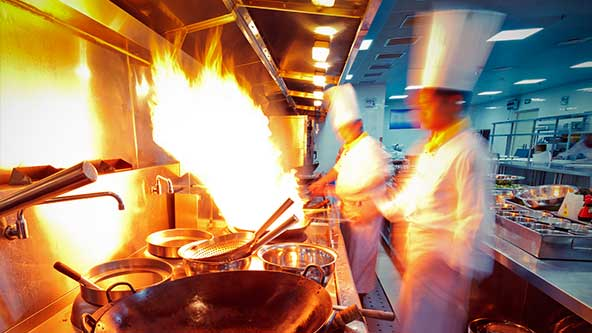 kitchen utilities buy cabinets workplace safety solutions for the restaurant & hotel ...