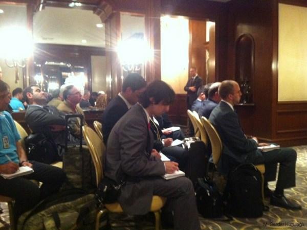 İlk basın toplantısı