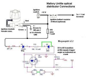 Megasquirt w Unitlite Optical Distributor