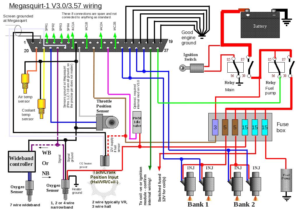 mk1 golf gti fuel pump wiring diagram whole house generator megasquirt 1 - external layouts