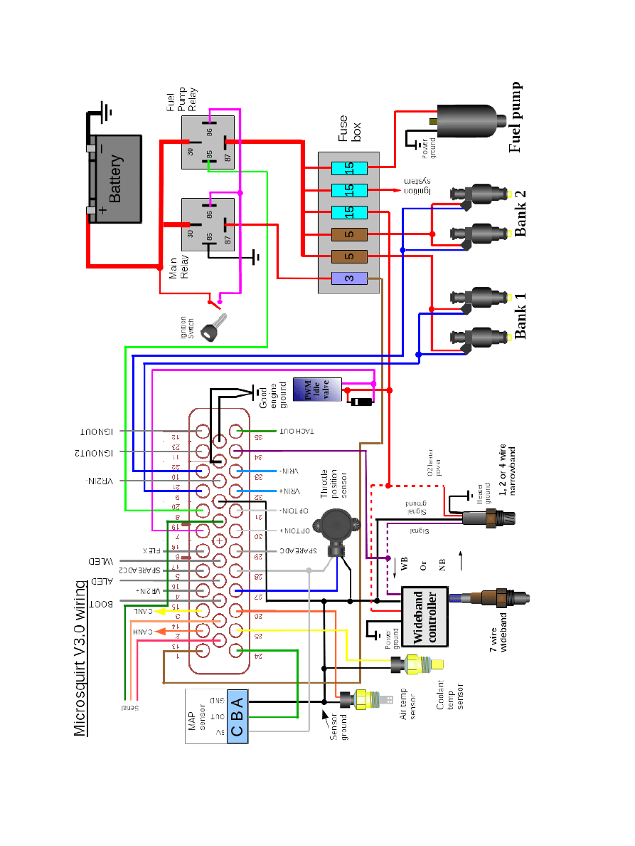 medium resolution of 94 ford probe 2 0l wiring diagram