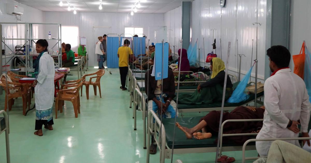無國界醫生於羅興亞難民營中心點開辦醫院 | 無國界醫生(臺灣)