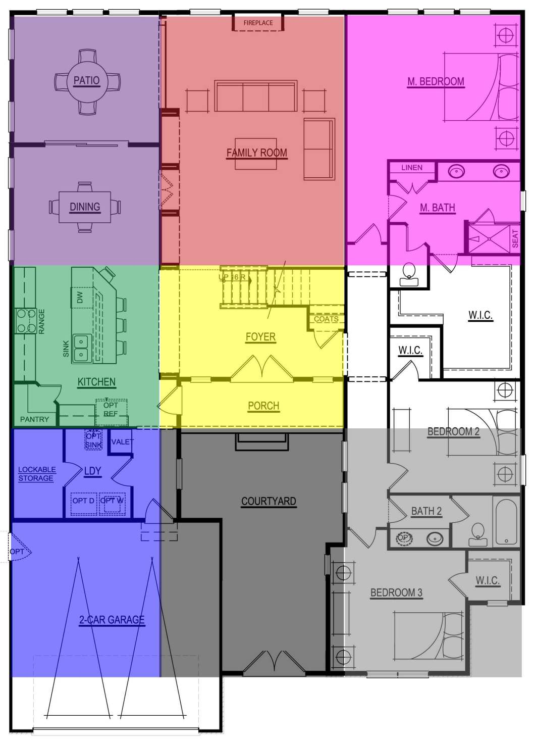 Feng shui bedroom layout bagua for Good bedroom layouts