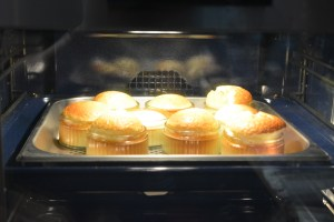 Lemon soufflé - from freezer to table in 15 minutes!