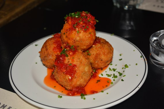 Dirty Bones Food Macaroni Cheese Balls