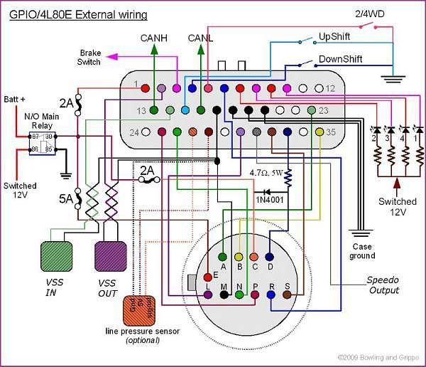 Wiring Diagram For 4L80E Transmission – Readingrat Net