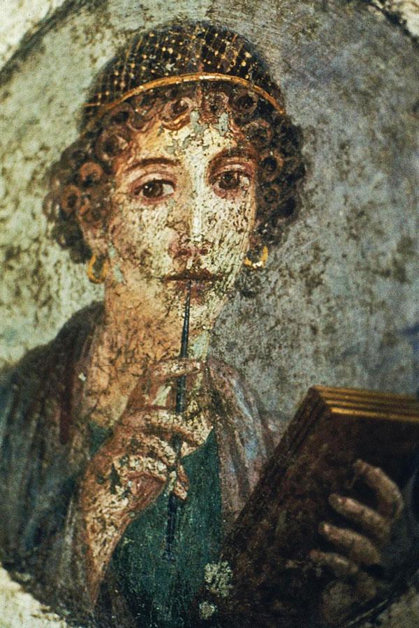 Pompeii-girl
