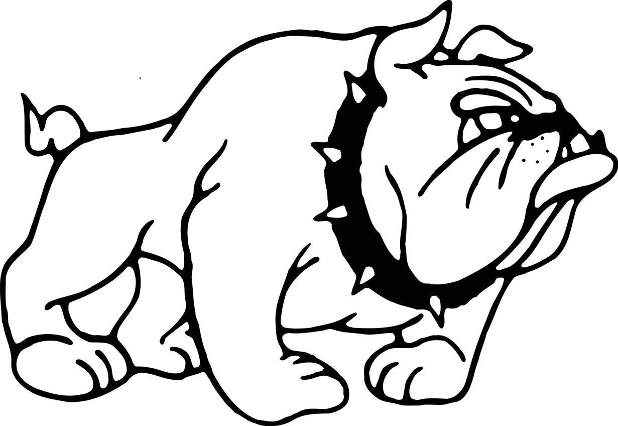 Bulldog School Logo for Pinterest