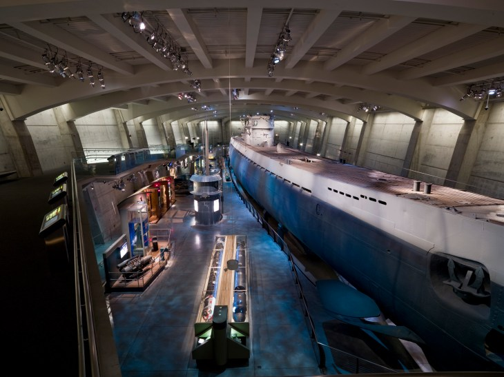 U-505 Submarine - Museum of Science and Industry