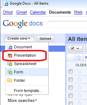 how to create an online powerpoint presentation with google docs, Modern powerpoint