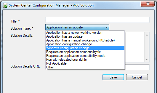 Adding Solution to an Application - Analyze