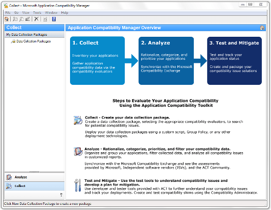 Application Compatibility Manager