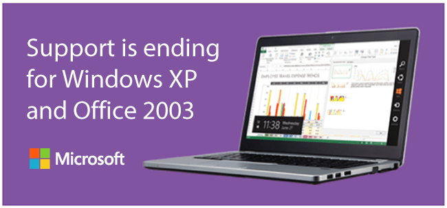 Microsoft XP support Ending April 8th 2014