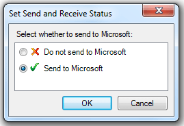 Restrict - Send Recieve the ACT Reports