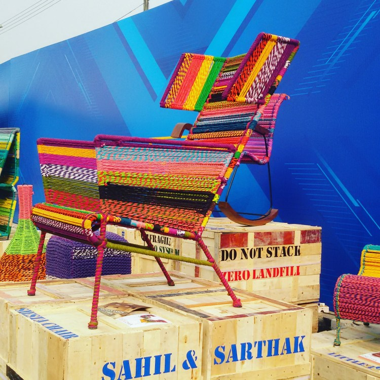 Colourful cane chairs instantly add fun element in an outdoor setting, check out these quirky ones!
