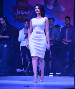 Ileana D'Cruz walks the runway at the opening
