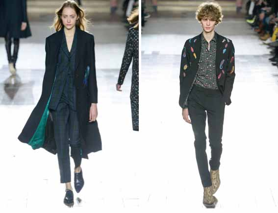 For Him and Her : Gender Benders at Paul Smith's Paris Show