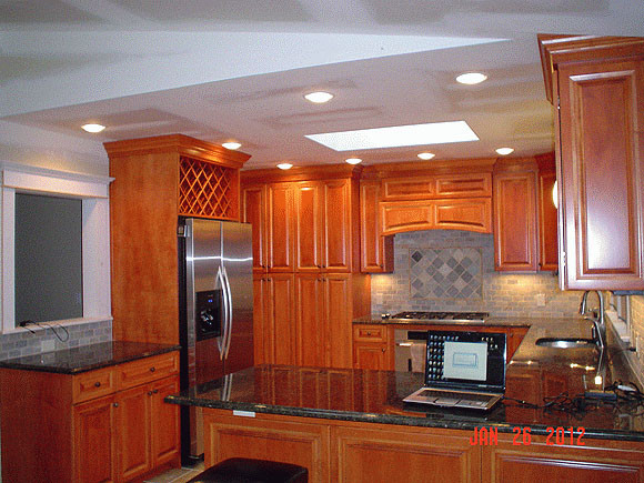 summit kitchens kitchen task lighting new jersey remodeling cabinets countertops msk and sons construction nj 2