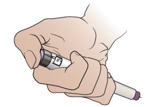 Сурет 10. Шприцті инсулинмен қалай сақтауға болады