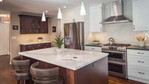Transitional Martinez Open Plan Kitchen Remodel MSK