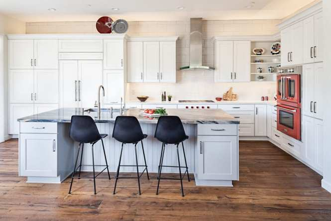 Do You Put Hardwood Floors Under Kitchen Cabinets | Review ...