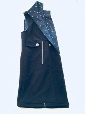 mskyh wool long hoodie BASIC