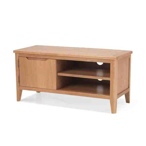 melbourne contemporary solid wood oak small widescreen lcd