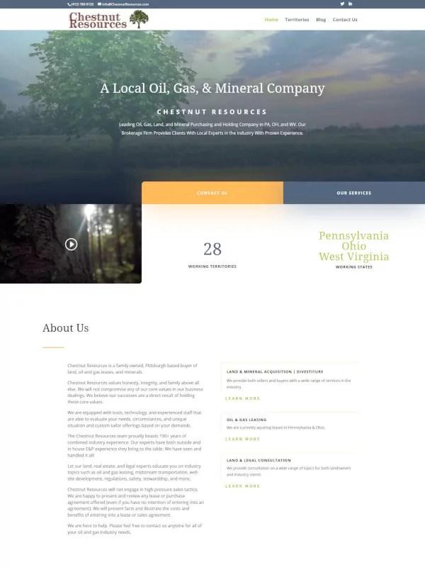chestnut resources