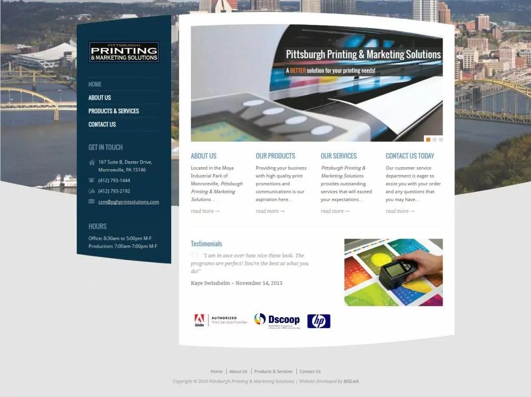 Pittsburgh Printing & Marketing Solutions