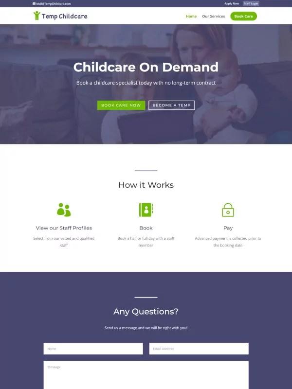 Temp Childcare