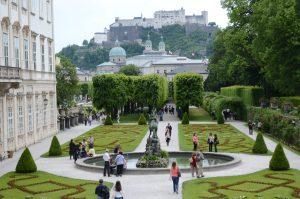 Mirabel Gardens in Salzburg, Austria