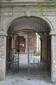 Front Gate at Nonnberg Abbey