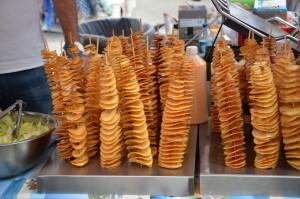 Fun Food at the Portobello Road Market, London, England