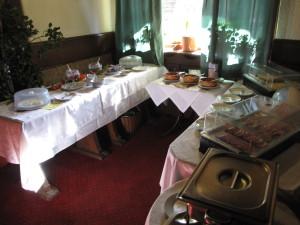 Breakfast Buffet in a B&B