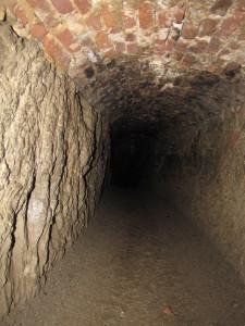 Tunnel beneath the Rheinfels Castle Ruins