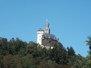 The Marksburg Castle, Germany