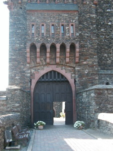 The Entrance to the Reichenstein Castle, Germany