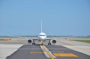 Taxiing to the Terminal