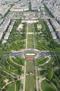 The Champ de Mars Park, Paris A Great Place to Read, Sketch or Take Photos