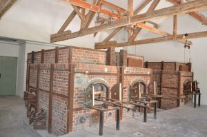 The Crematorium at Dachau Concentration Camp