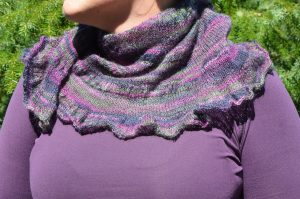 My New Zealand Citron Shawl