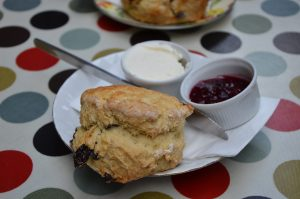 Scones for Lunch in Dublin, Ireland
