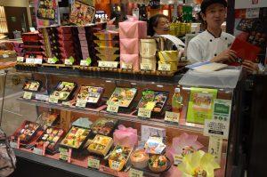 Bento Boxes at the Tokyo Food Show, Tokyo, Japan