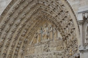 Christ Sitting in Judgment, Notre Dame Cathedral,