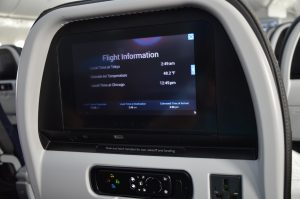 Seat-back Entertainment Includes Flight Information
