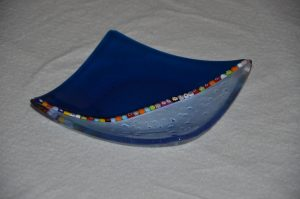 Small Venetian Glass Plate