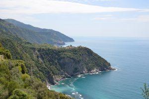 The Coast of Italy with Corniglia (front) and Manarola (back)