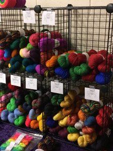 Yarn from Rain's Obsessive Stitchery, Fiber in the Boro, Murfreesboro, Tennessee