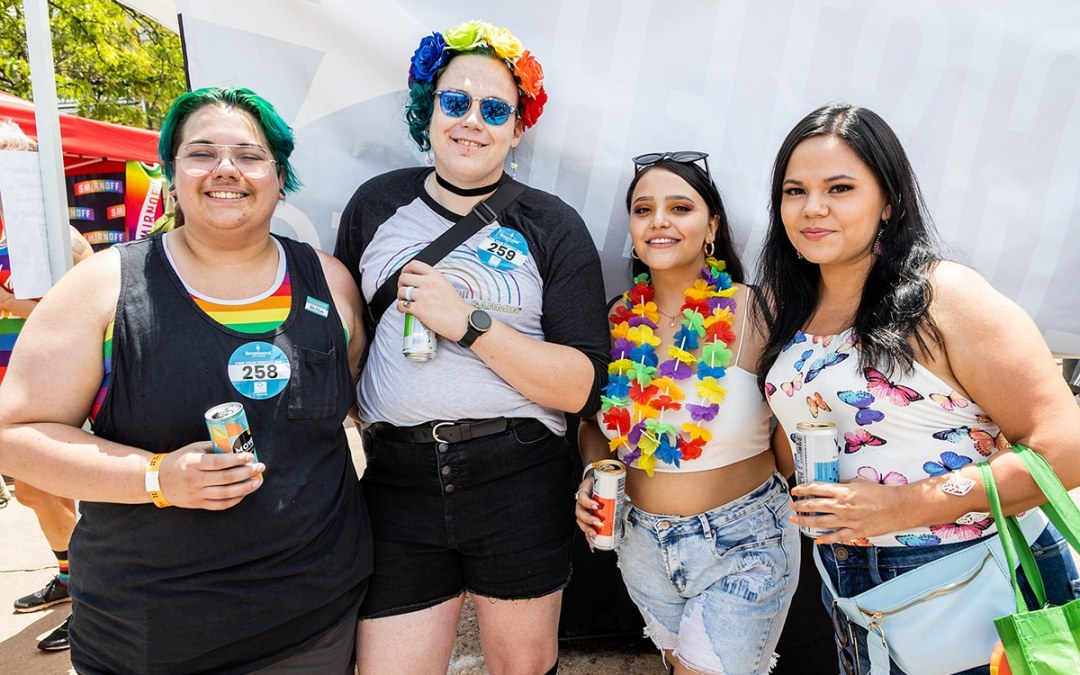 """PHOTOS: Denver PrideFest returns to in-person revelry with """"hub"""" model"""