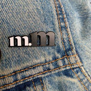 ms. mayhem enamel pin